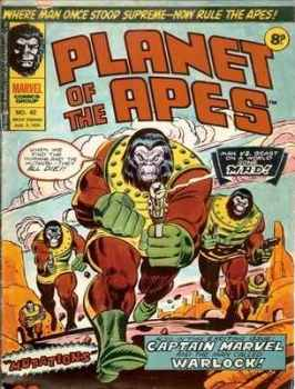 Planet Of The Apes - Issue 42 - August 1975
