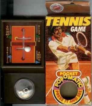 Tennis Game - Pop-O-Matic - Peter Pan Playthings