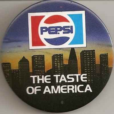 Pepsi - The Taste Of America Badge