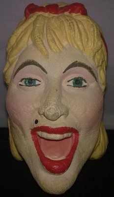 Madonna Face Puppet - VERY RARE