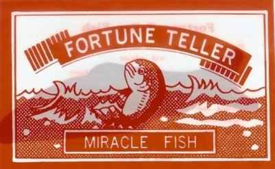 Fortune Telling Fish - NEW