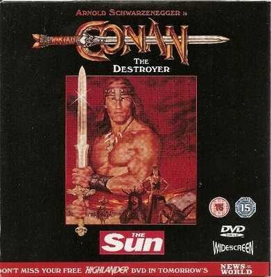 Conan The Destroyer - DVD