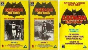 Batman And Robin (1949 Serial) - VHS - VERY RARE