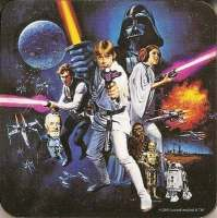 Star Wars - Coaster - A New Hope - NEW