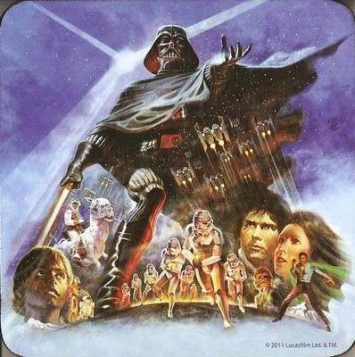 Star Wars Coaster - The Empire Strikes Back - NEW