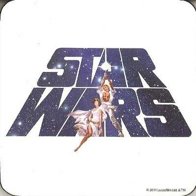 Star Wars Coaster - Logo - NEW