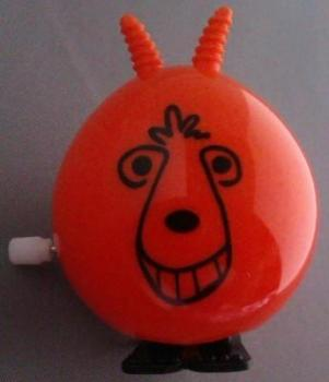 Wind Up Space Hopper - Orange - NEW