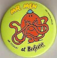 Mr Men - Mr Tickle Beefeater Badge