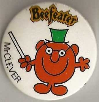 Mr Men - Mr Clever Beefeater Badge
