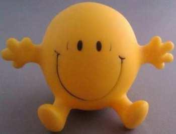 Mr Men - Mr Happy Talking Figure