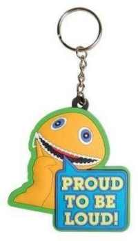 Rainbow - Zippy - Proud To Be Loud Keyring - NEW