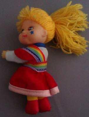 Rainbow Brite Plush Clip-on Figure