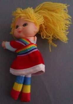 Rainbow Brite Plush Clip-on Figure [ns]