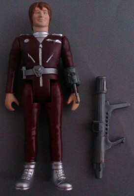 Terrahawks - Lieutenant Hawkeye Figure - COMPLETE