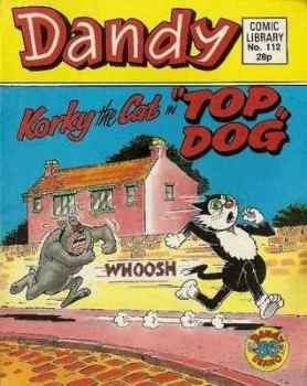 Dandy Comic Library - Issue 112 - Top Dog