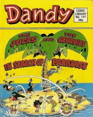 Dandy Comic Library - Issue 117 - In Search Of Paradise