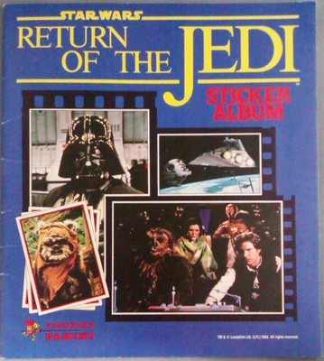 Star Wars : Return Of The Jedi Panini Sticker Album