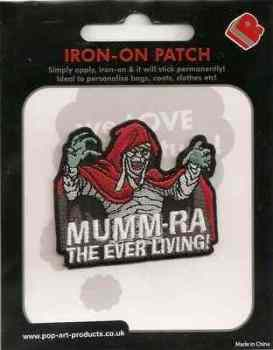 Thundercats Mumm-Ra Embroidered Patch - NEW