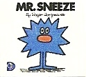 Mr Men - Mr Sneeze Book - 1/12th Scale Dolls House Replica - NEW
