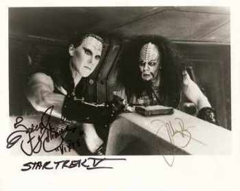 "Spice Williams ""Vixis"" And Todd Bryant ""Captain Klaa"" Signed Photo"