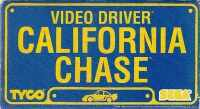Video Driver - California Chase (Sega / Action GT / Tyco) VHS