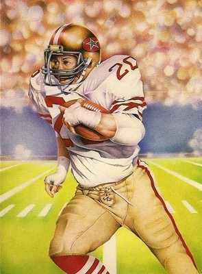 Patrick Lowry - American Footballer Postcard