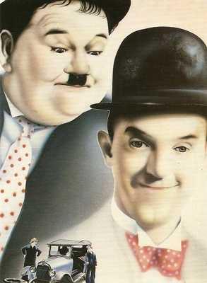 Martin Alton - Laurel & Hardy Postcard