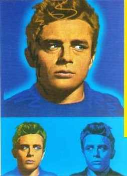 Viv - James Dean - Athena Postcard
