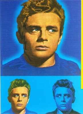 Viv - James Dean Postcard