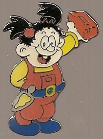 Beano - Ivy The Terrible Metal Pin Badge - NEW