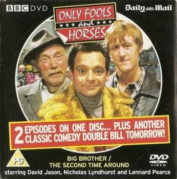 Only Fools And Horses / Allo Allo / One Foot In The Grave - DVD
