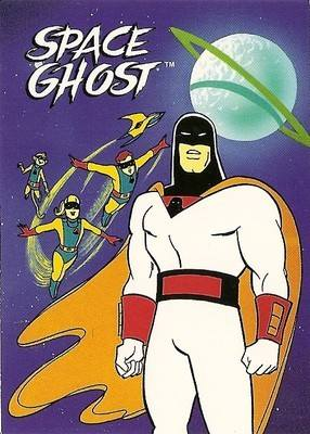 Hanna-Barbera Collectable Card - 11 - Space Ghost