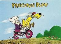 Hanna-Barbera Collectable Card - 8 - Precious Pupp