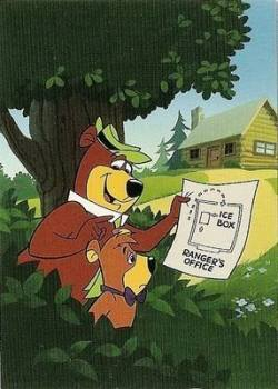Hanna-Barbera Collectable Card - 30 - Yogi Bear