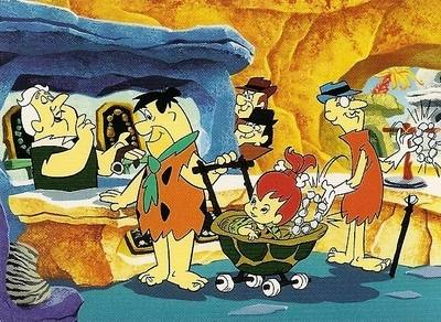 Hanna-Barbera Collectable Card - 32 - The Flintstones