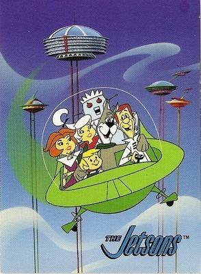 Hanna-Barbera Collectable Card - 36 - The Jetsons