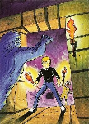 Hanna-Barbera Collectable Card - 45 - Jonny Quest