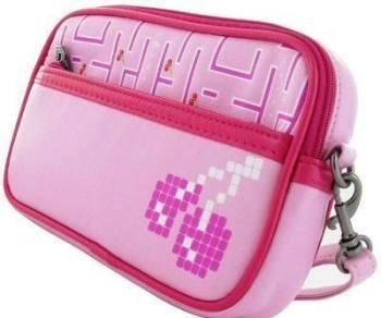 Joystick Junkies - Pink Pixel Cherry Handheld Console Bag - NEW