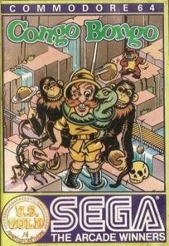 Congo Bongo (Sega) - Commodore 64