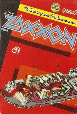 Zaxxon (Sega) - Commodore 64