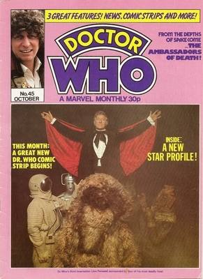 Doctor Who - A Marvel Monthly Magazine - Issue 45 - October 1980