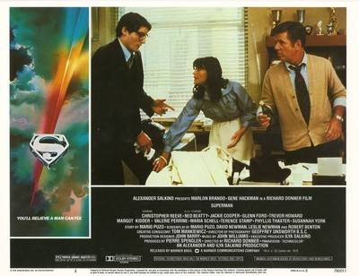 Superman The Movie Print - Clark, Lois And Perry