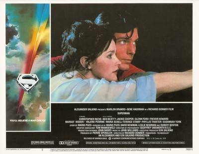 Superman The Movie Print - Superman And Lois