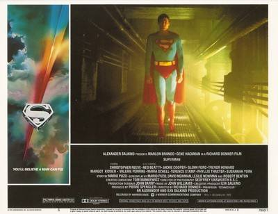 Superman The Movie Print - Superman Standing