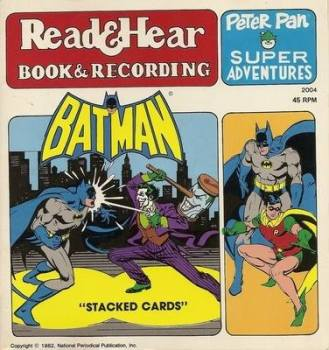 Batman - Peter Pan Super Adventures - Read & Hear - Book & Recording - 1982