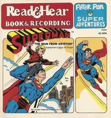 Peter Pan Super Adventures - Read & Hear - Book & Recording - Superman