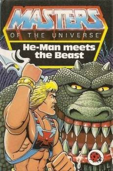 Masters Of The Universe Storybook - He-Man Meets The Beast