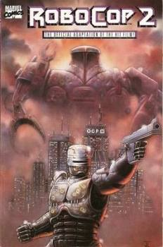 Robocop 2 - Movie Adaptation - Comic Graphic Novel - TPB - RARE