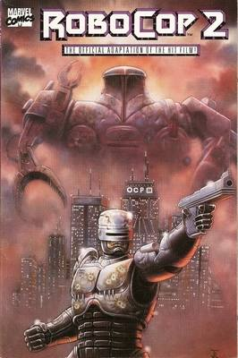 Robocop 2 - Movie Adaptation - Comic Graphic Novel - RARE