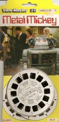 Metal Mickey Viewmaster Reels